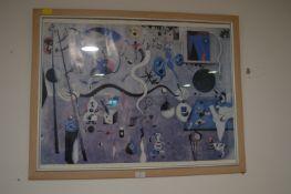 Framed Jean Miro Print