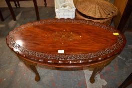 Carved Eastern Style Coffee Table