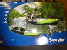 *Sevylor Yukon Infalatable Kayak. Used