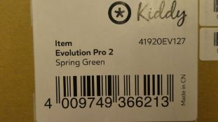 *Kiddy Evolution PRO 2 Childs Car Seat Group 0+ Spring green.New