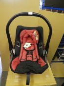 *Kiddy Evolution PRO 2 Childs Car Seat Group 0+ Cranberry. New