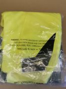 *Ballistic' Work trousers High Viz Yellow Unused