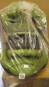 *Kiddy Phoenixfix 3 Child Car seats - Cactus Green New