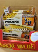 *Box approx' 30packs x20 Panasonic AAA Batteries