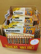 *Box approx' 27packs x20 Panasonic AA Batteries