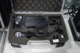 Shure PGX4/SN58 Radio Microphone & Case