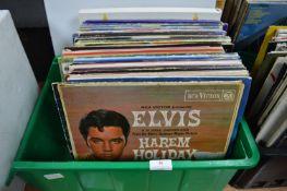 """Vintage 12"""" LP Records; Elvis etc."""