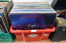 "Vintage 12"" LP Records; Moody Blues, Santana, etc."