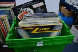 """12"""" LP Records: ZZ Top, etc."""