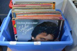 Vintage Vinyl LP Records; Shaking Stevens etc.