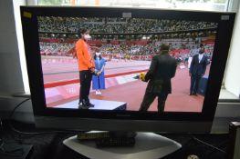"Panasonic Viera 37"" TV (working condition) with Remote"