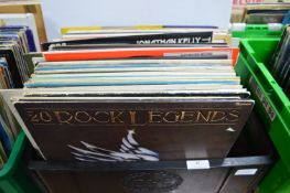 """Vintage 12"""" LP Records: Rock, Pop and Easy Listening"""