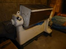 * Industrial paddle mixer. Manesty 300 - with large mixing bowl, in good condition. 2000w x 1000d