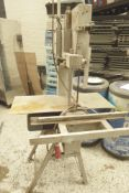 * Factory band saw - AEW 350. 3 phase.