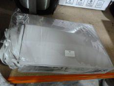 *Set of Grey Ben Linen