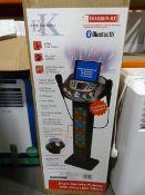 *Easy Karaoke Bluetooth Karaoke Stand System with