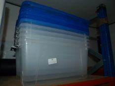 *4 Storage Boxes with Lids