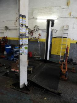 8296 - GARAGE EQUIPMENT AND MOTOR VEHICLES - THE ENTIRE CONTENTS OF TWO VEHICLE REPAIR CENTRES