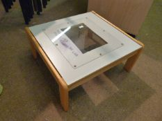 *Coffee Table with Perspex Top