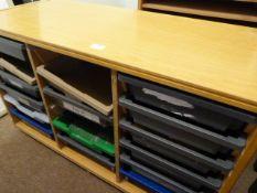 *Storage Unit with Trays