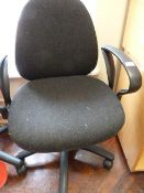 *Upholstered Office Chair