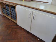 *Storage Cupboard with Tray Rack ~212x70x60cm