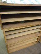 *Three Sets of Shelves 91x60.5x36.5cm each