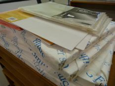 *4x ~250 Sheets of 450x640mm Paper, A3 Sized Filing Pockets, etc.