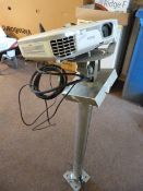 *Epson EB-X11 Projector with Ceiling Mount