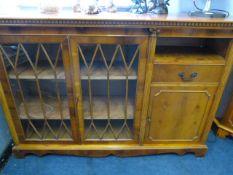 Yew Wood Glazed Sideboard