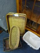 Four Wicker Baskets