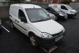 *Vauxhall Combi Van CDTi, Reg; MK60 AKV, Mileage: 170,767
