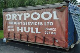*16ft Curtain Side Lorry Back with Daylight Roof