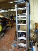 MacAllister EN131 Three Section Combination Ladder