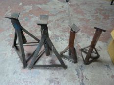 Two Pairs of Axel Stands