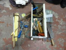 Small Quantity of Assorted Tools