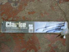 Clarke 4pc Pry Bar Set
