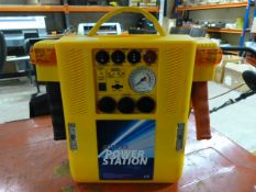 Auto Power Station Jumpstarter and Compressor