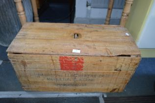 Vintage Pine Egg Box