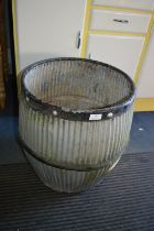 Galvanised Dolly Tub