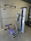 *Cybex VR1 Dual Purpose Adjustable Lat Pulldown and Seated Row with 100kg Weight Stack