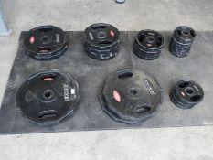 *200kg of Jordan Olympic Weights