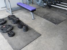 *Four Sets of Rubber Gym Mats