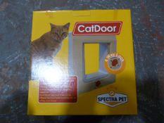 Twelve 4-Way Locking Medium Pet Doors