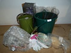 *Garden Accessories: Watering Can, Bird Boxes, Buc