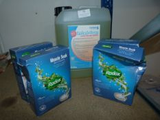 *Four Boxes of Radox Muscle Soak, and 5L of Instan