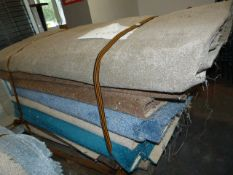 Pallet of Assorted Carpet Offcuts