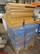 *Pallet 100+ Wood Effect Shelves ~80x39.5x3cm