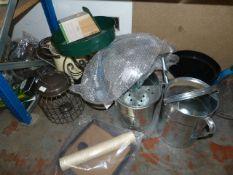 *Garden Accessories: Buckets, Bird Feeders, Riddle