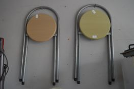 Pair of Folding Barstools